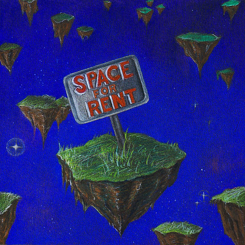 'Space For Rent' by Phanerons (CD)