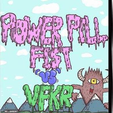 'Power Pill Fist vs VFKR: Basaltic Day Terrors' (CD)