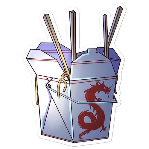Box of Noodles Sticker