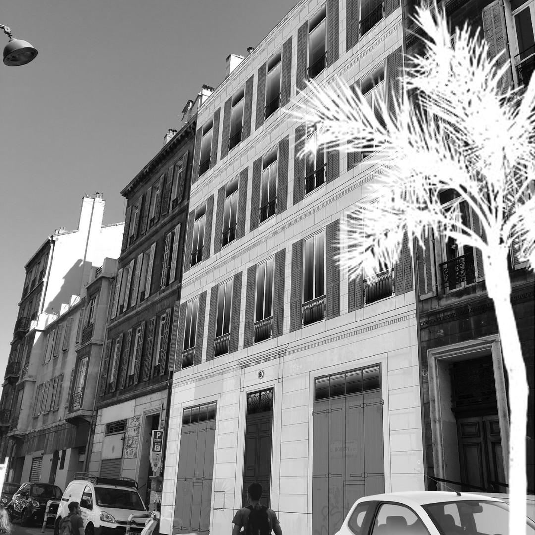 Immeuble marseillais
