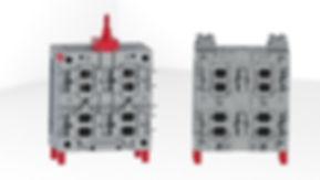Mold 2K- Translation  4x cavities