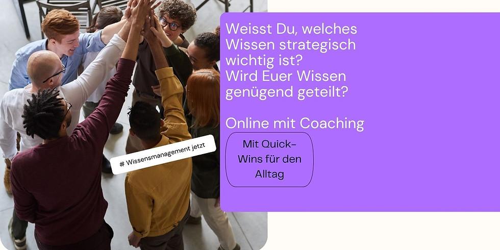 Wissen besser verteilen - Online-Seminar