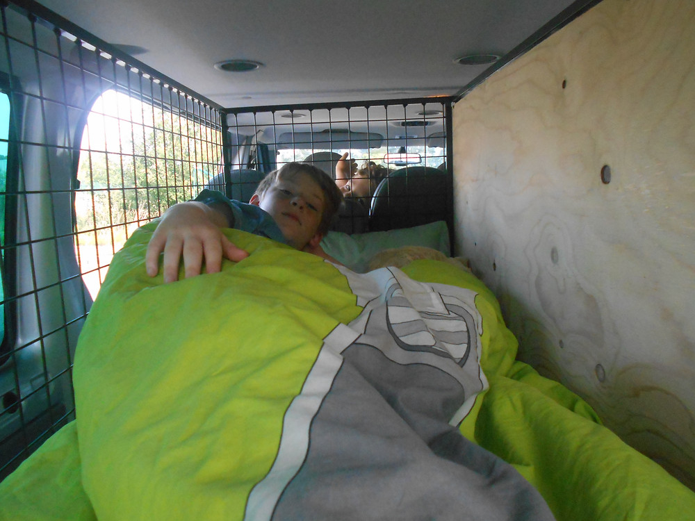 Vi sov i burarna!