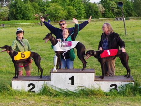 Seger i Danish Puppy Derby!!