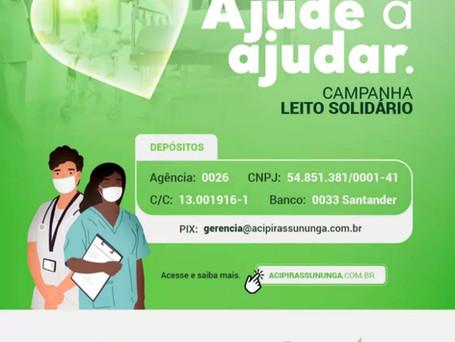 Ajude a ajudar! Campanha Leito Solidário!