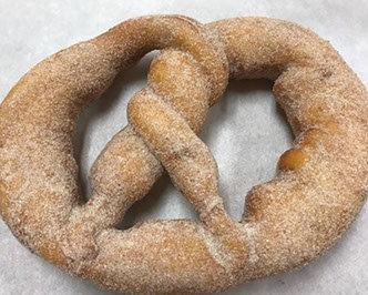Cinnamon Pretzel