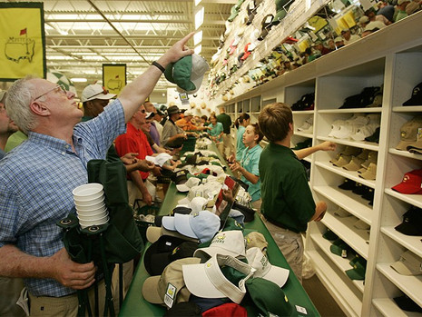 The #1 golf store on earth: The merchandise store at Augusta