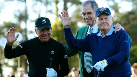 Masters Round One Is Underway - A Farewell To Arnie