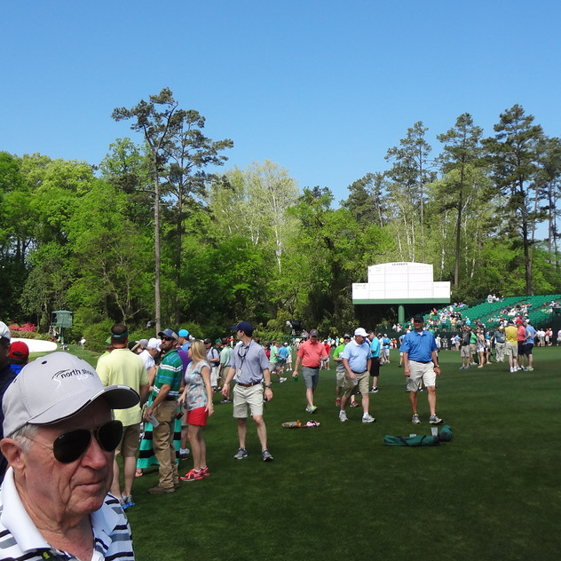 Amen corner stands, Tim