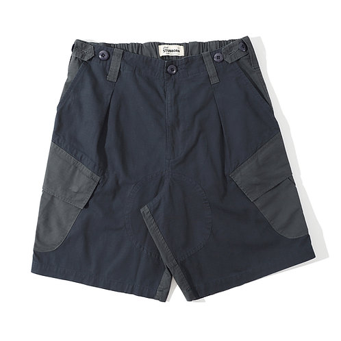 Royal Jungle Shorts - Mad Navy