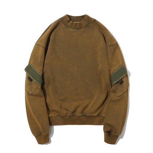 Combat Crew Neck -Toasted Olive