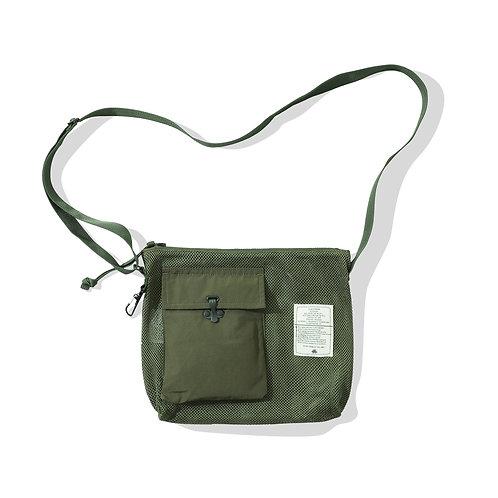 Combat Shoulder Bag - Mesh Olive