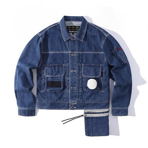 Type F Jacket - Washed Selvedge