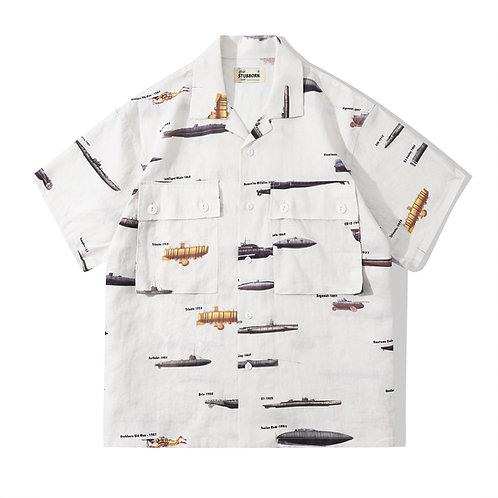 Souvenir Shirt - Submarine Off White
