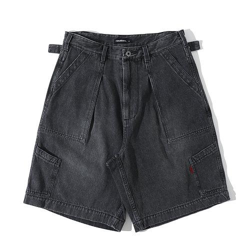 USAF Utility Shorts - Black Denim
