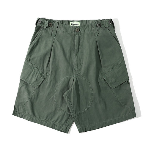Royal Jungle Shorts - Army Green