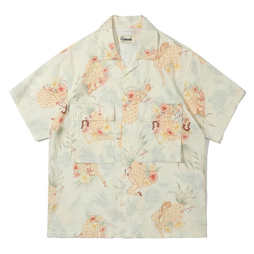 Cocktail Hawaii Shirt - Day White