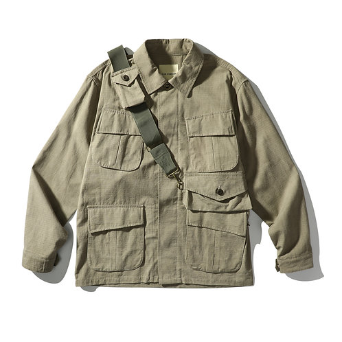Jungle Full Gear - Washed Khaki