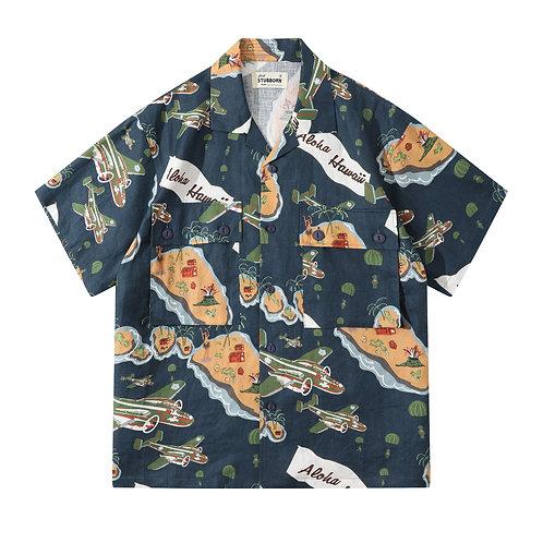 Souvenir Shirt - Paramarine Navy