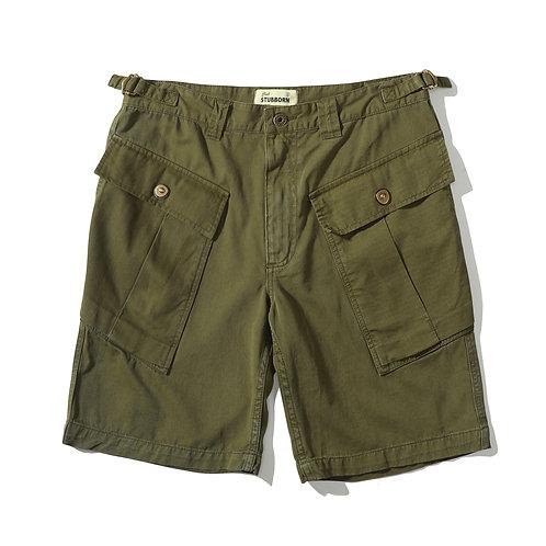 P43 Shorts - Washed Olive