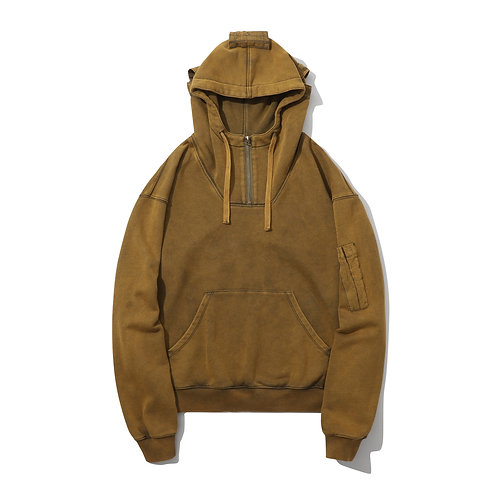 Air Force Hoodie - Toasted Olive