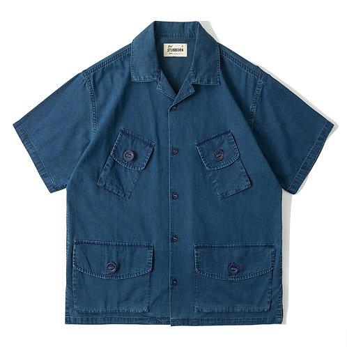 Canadian Shirt - Washed Indigo