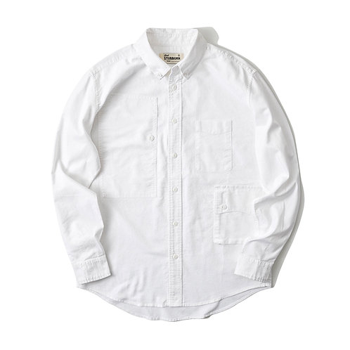 Traveler Shirt 2.0 - Oxford White