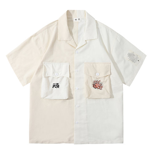Souvenir Shirt 2.0 - Embroidery White