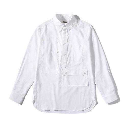 Traveler Button Down Oxford Shirt - White