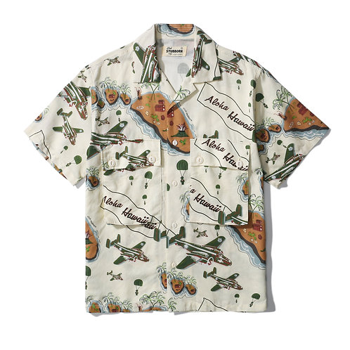 Hawaii Attack Shirt - Day White