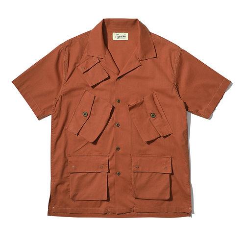 C1 Hawaii Shirt - Dirty Orange