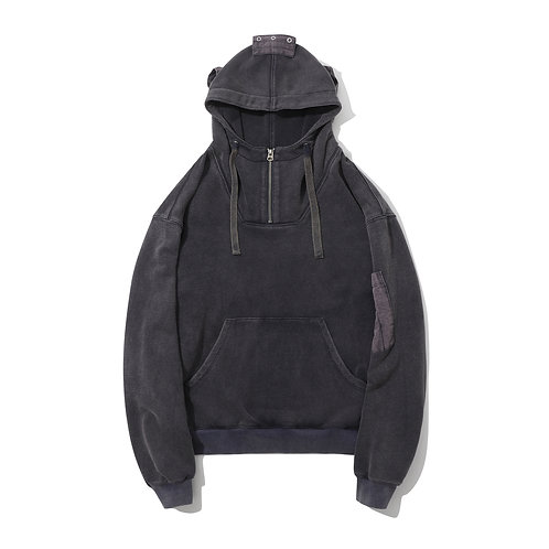 Air Force Hoodie - Salted Navy
