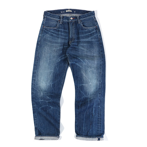 WAVE WASHED DENIMS - DAD CUT