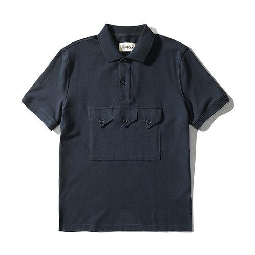 Smock Polo - Navy