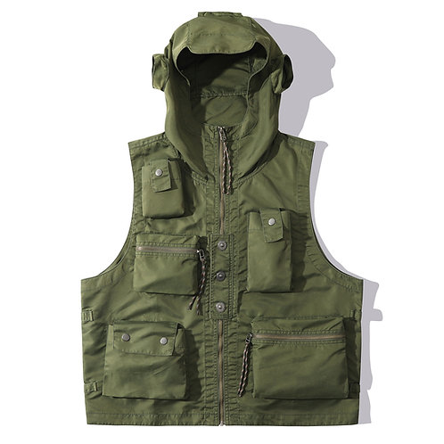H2 Vest - Army Green