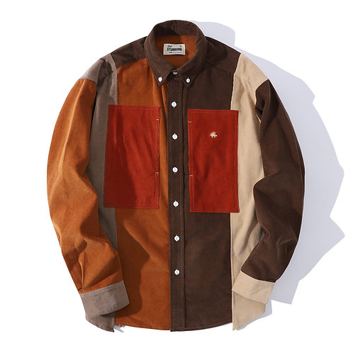 Old Man Fatigue Shirt - Earth Brown