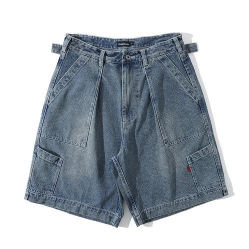 USAF Utility Shorts - Blue Denim