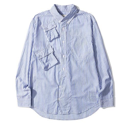 C1 Stripy Shirt - Blue