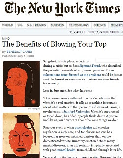 The Benefits of Blowing Your Top