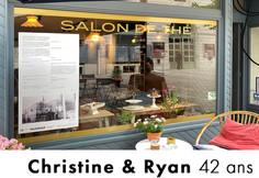 Christine & Ryan 42 ans