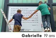 Gabrielle 19 ans