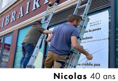 Nicolas 40 ans