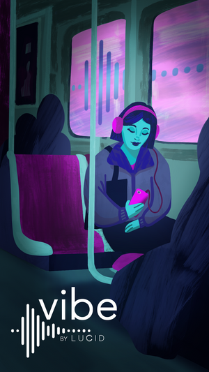 Vibe App Launch - illustration by Justice Walz