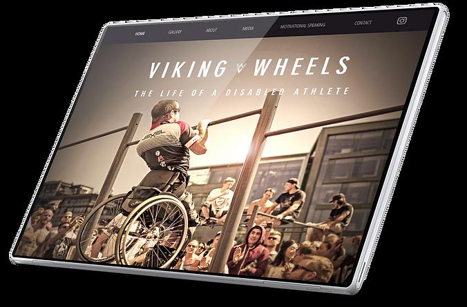www.vikingwheels.no Viking Wheels Harald Riise Handicap athlete