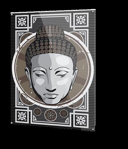 Akrylglass dekor bilder illustrasjoner