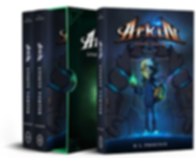 Arkin - Lysets Vokter ™ grafisk romanserie