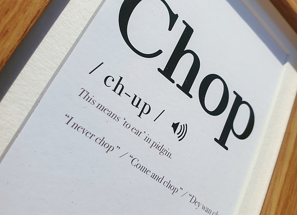 Pronounce it Mini! (Framed)
