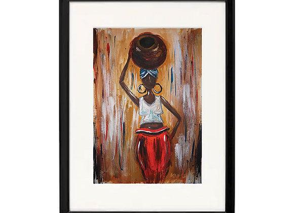 Mama Africa - High Quality Print ( A4, A3)