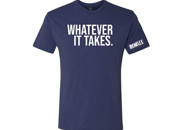 WHATEVER IT TAKES TEE - Navy