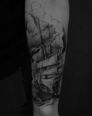 Ship Tattoo